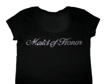Maid of Honor Shirt, Maid of Honor Gift, Bachelorette Party Shirts, Bridesmaid Shirts, Bridesmaid Gifts, Bridesmaid Proposal, Bride Shirt
