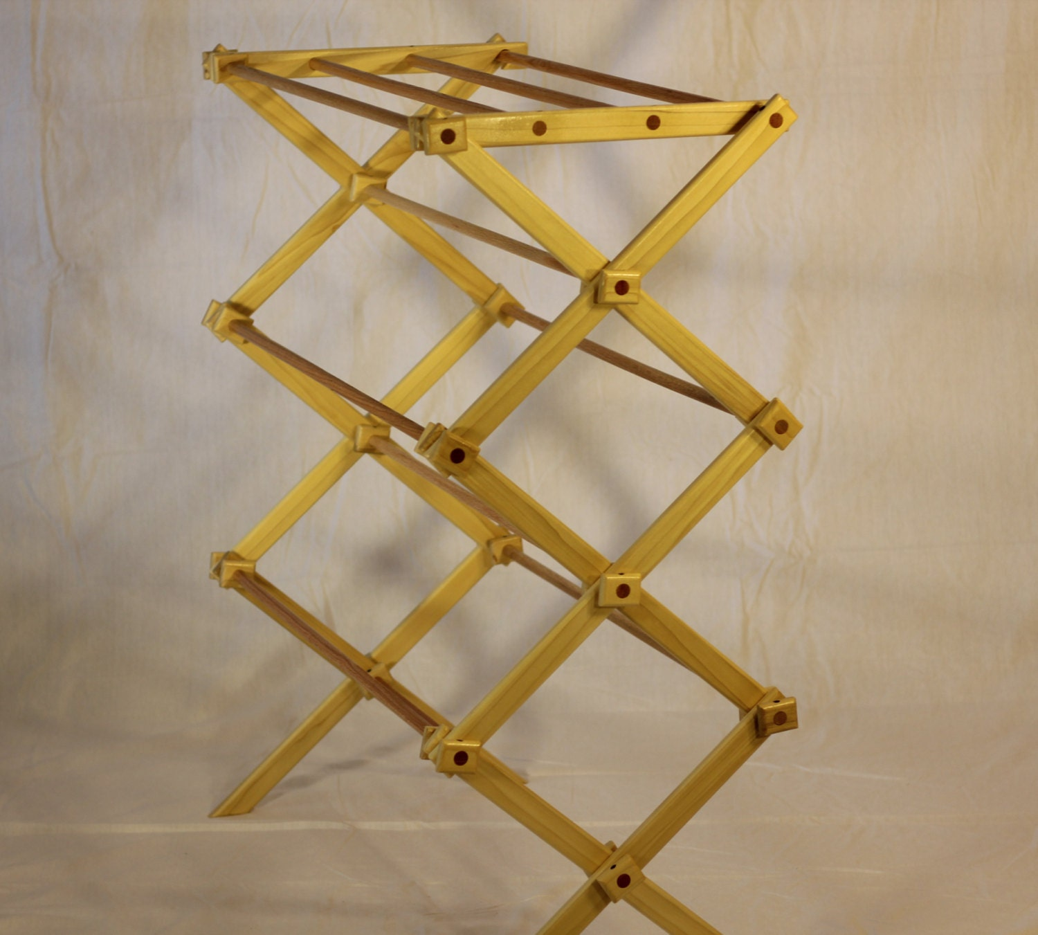 Clothes Drying Rack Made Of Wood
