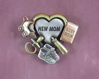 New Mom Gift- New Mom Jewelry- Mother to be Gift