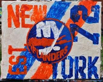 NY Islanders Est Fine Art