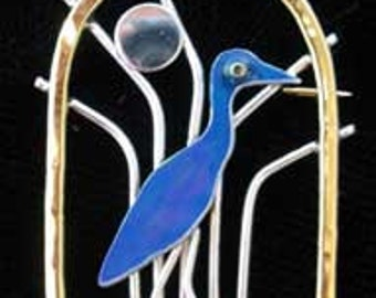 Heron Pin