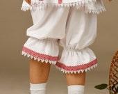 Ukrainian Children's pants embroidery. Vyshyvanka. Ukrainian embroidered trousers. Ukrainian traditional clothing. Ukrainian embroidery baby