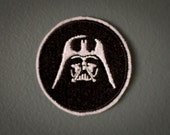 Darth Vader -- Star Wars Embroidered Iron-on Patch