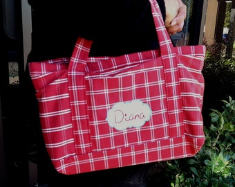 Cute Personalized Tote for Book/Lunch/Misc