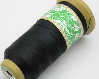326Yard 0.4mm Eco-friendly Black Color  Nylon Beading Thread/Cord