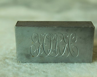 Vintage Engraving Block, KMK