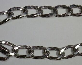 Silvertone Chain Necklace