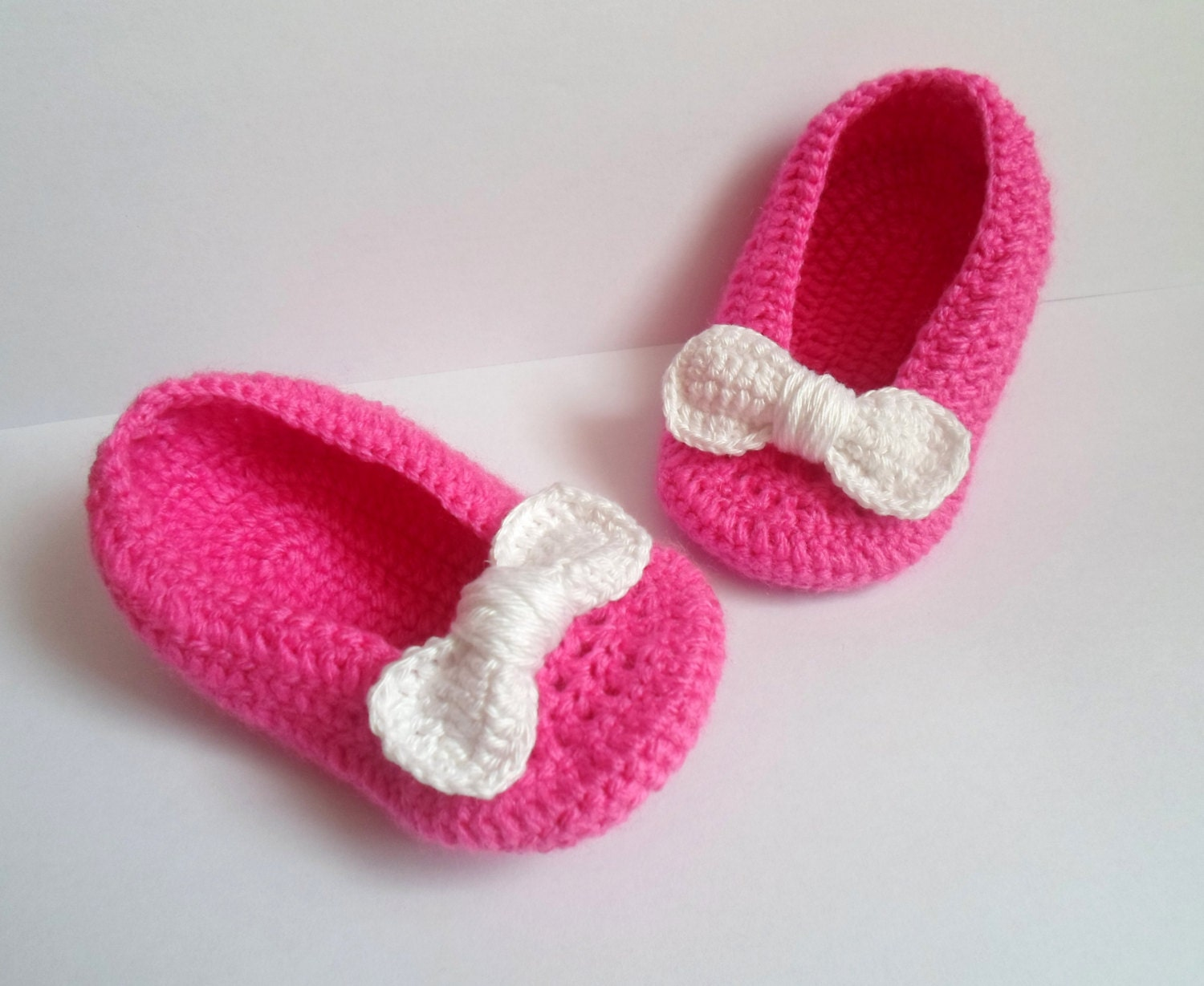 BABY PINK SHOES Baby Crochet Shoes Baby Girl Gift