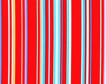 Paintbox Stripe Flame from Cynthia Rowley 1 Yard Cut