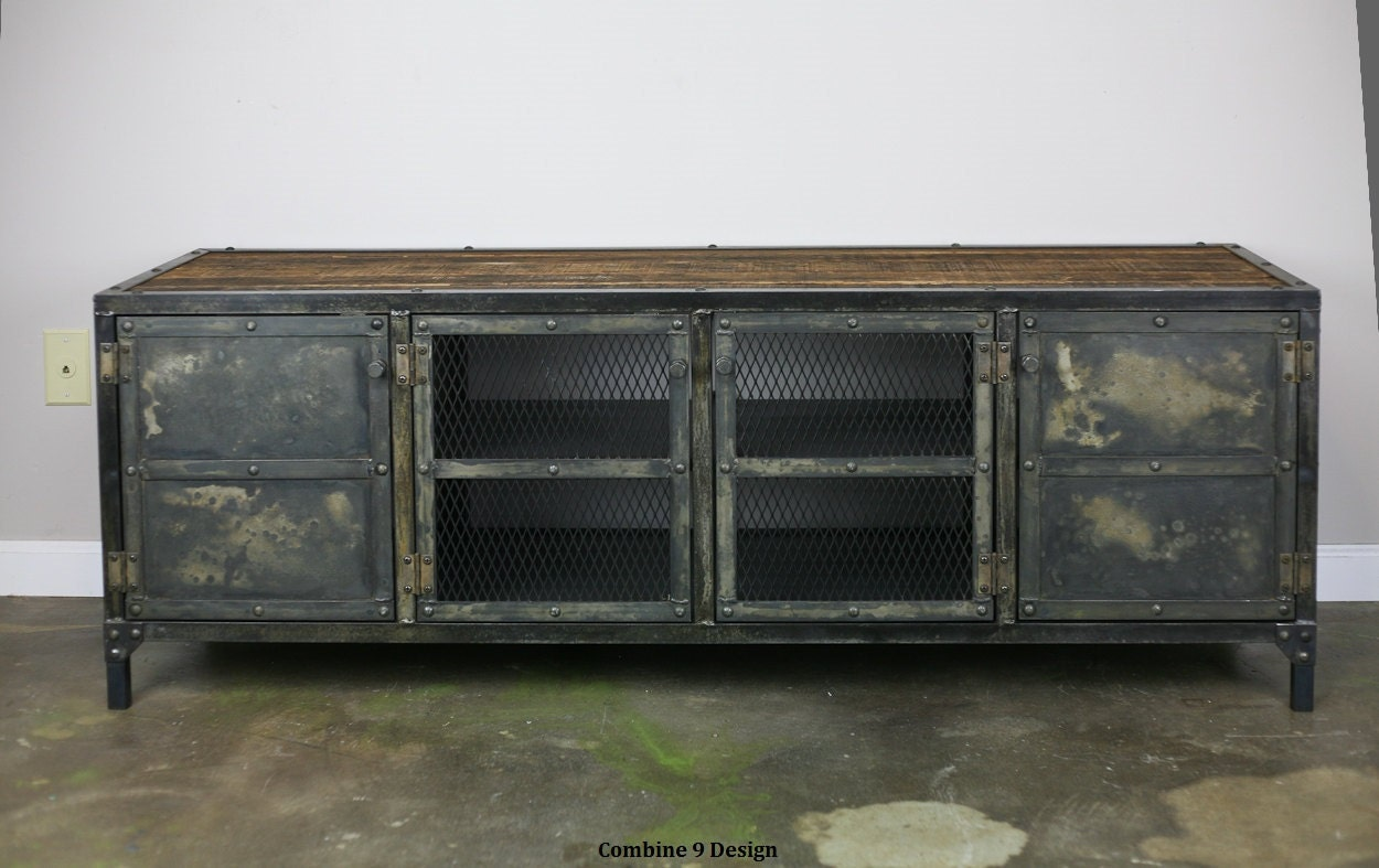 zoom - Reclaimed Wood Media Console