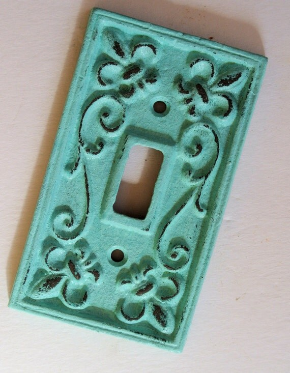 Items Similar To Fleur De Lis Light Switch Plate With A