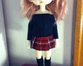 Schoolgirl Set for Blythe or Hujoo