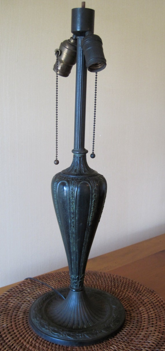 Vintage Art Nouveau Rainaud Table Lamp Base
