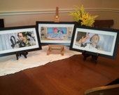 """Black frame and mat for 5""""x11"""" Movie poster prints by Jim Ferguson"""