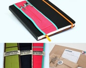 Notebook Pencil Holder-- 3 color choices