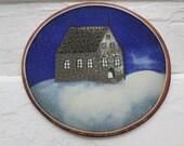 "Collectible wall plate ""Church"" ""Kirkko"" by Arabia Finland"