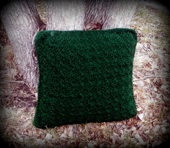 Hunter Green Throw Pillow : Unavailable Listing on Etsy
