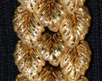 Estate Heavy Solid 18k Gold Bracelet - Handmade - 64.5g of Gold