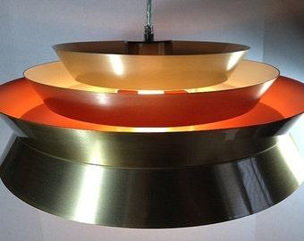 SALE! Danish Mid Century Modern Style Chandelier UFO PENDANT Ceiling Light Fixture