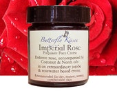 Imperial Rose Exquisite Face Creme, Face Cream, Face Moisturizer, Facial Moisturizer, Face Lotion, Natural Face Cream, Butterfly Kisses