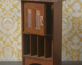 Dollhouse Miniature Harvey Ellis Craftsman Style Cabinet