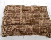 Hot or Cold Therapy Rice Bag in Bamboo Motif in Warm Brown