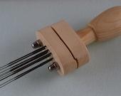 Needle Felt Multiple Holder Punch Tool - The GENIE - Holds up to 10 Needles