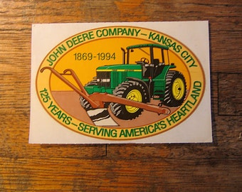 John Deere Company - Kansas City: 125 Years - Serving America's Heartland 1869-1994 Tractor