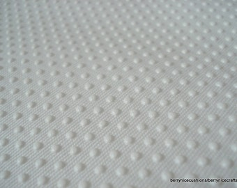 One Metre White Grip Tight Cloth White Jiffy Grip Non Slip Fabric
