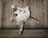 tilda , tilda bunny rabbit,tilda rabbit,ballerina, doll, child friendly,easter bunny,easter,gift for girl,ballerina Bunny