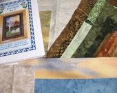 Alpacas Under The Sycamore Art Quilt Pattern Kit