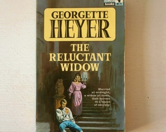 Vintage Georgette Heyer The Reluctant Widow pan book