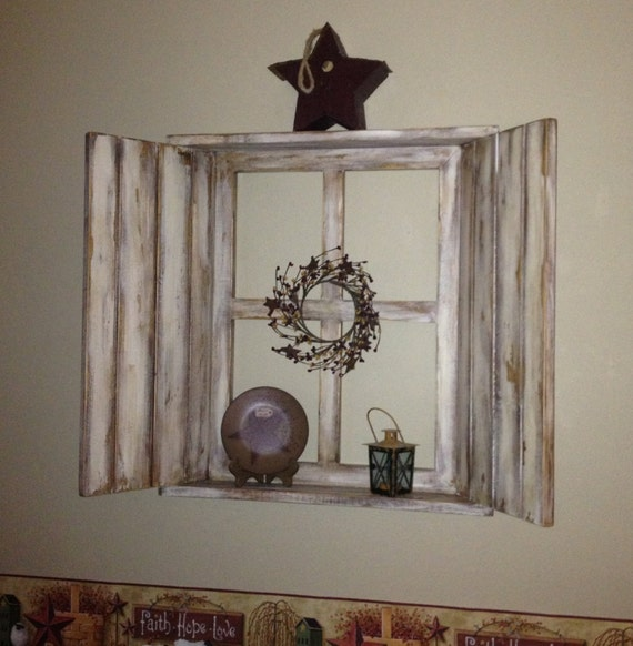 like this item - Window Frame Wall Decor