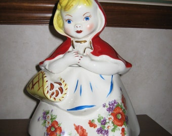 Hull Red Riding Hood Cookie Jar