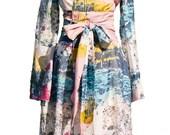 Kimono Robe in Strata - size large