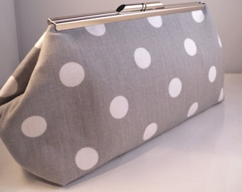 Bridesmaid Gift Clutch Purse by Sew Sarah