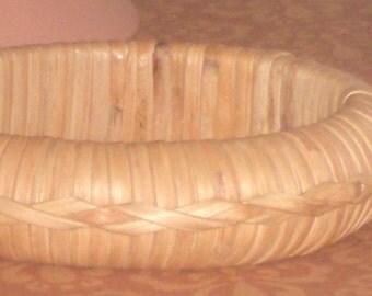 Vintage RATTAN BANGLE BRACELET