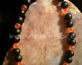 Orange and Black Frost