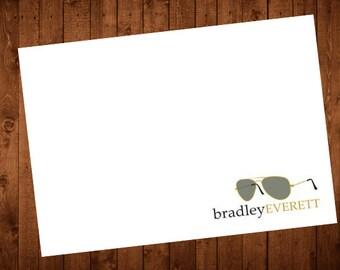 Note Card: Aviators Folded Notecards set of 10