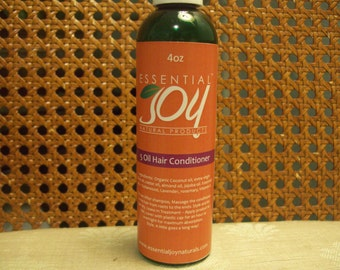 5 Oil Hair Conditioner.  Hair Serum for dry, damaged hair, 4 oz