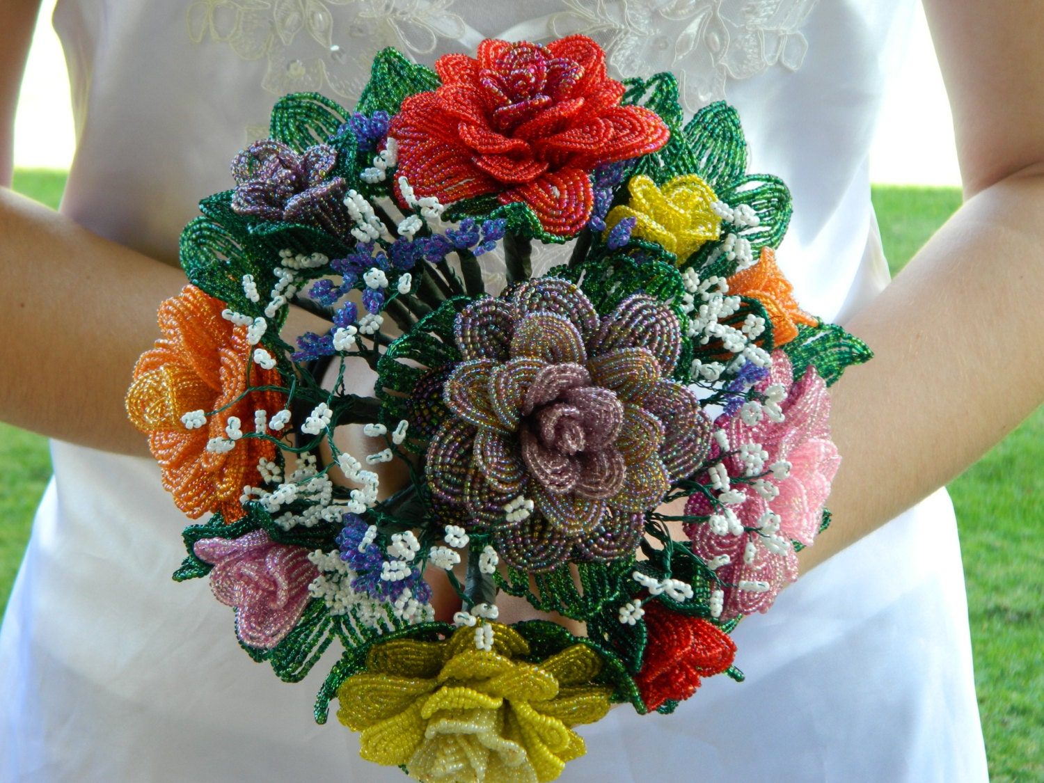 Victorian Flower Arrangements Wedding Flower Bridal Bouquet