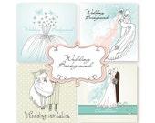 Custom Printable Wedding Invitations, Card Templates
