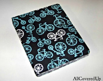 iPad or Kindle Cover Grey Bicycles