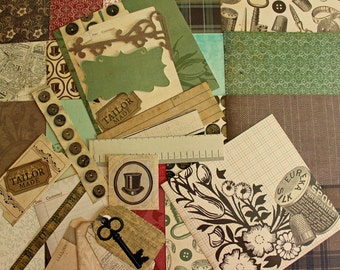 Regent Street Collection 6x6 paper pack 44 sheets with tags, die cuts, embellishments