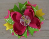 Tinkerbell Inspired Boutique Bow