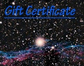 Gift Certificate for Blue Parrot custom jewelry