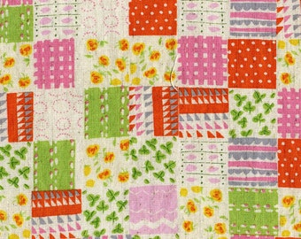 Penny Patch in Green from Nursery Versery by Heather Ross  for Kokka
