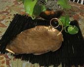 Copper Dish or Server 304--Signed Gregorian