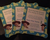 Jesse Toy Story Invitation