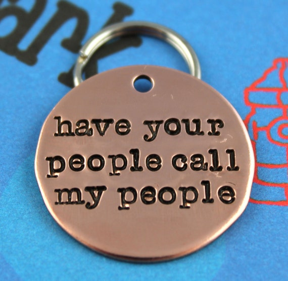 Custom Dog Tag Unique Pet ID Tag Handstamped By Critterbling